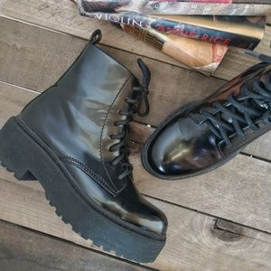 JEFFREY CAMPBELL District Platform Combat Boots